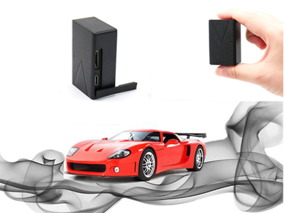 What abnormalities can be monitored by the car loan GPS tracker?